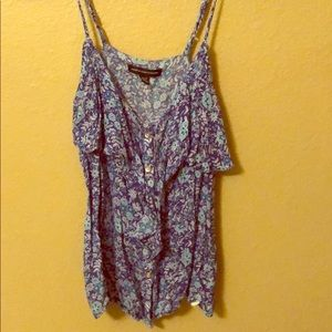 AMERICAN EAGLE Button up Tank